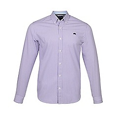 Raging Bull - Purple long sleeves candy stripe shirt
