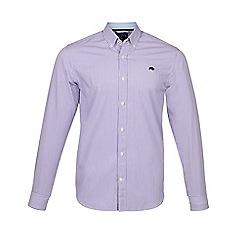 Raging Bull - Purple long sleeves candy stripe shirt