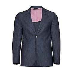 Raging Bull - Navy linen blazer