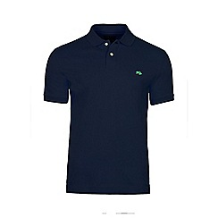 Raging Bull - Navy fly fit plain polo