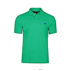Raging Bull - Green fly fit plain polo