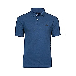Raging Bull - Denim fly fit plain polo