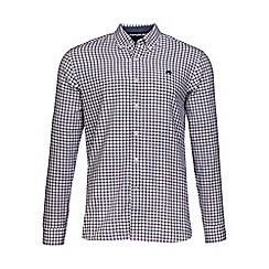 Raging Bull - Purple window pane twill shirt