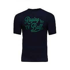 Raging Bull - Navy embroidered t-shirt