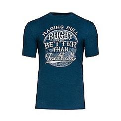 Raging Bull - Teal better than football t-shirt
