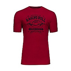 Raging Bull - Red union craft t-shirt
