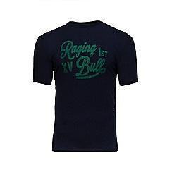 Raging Bull - Navy embroidered 1st XV t-shirt