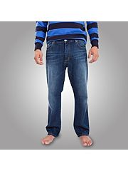 Blue Raging Bull Jeans