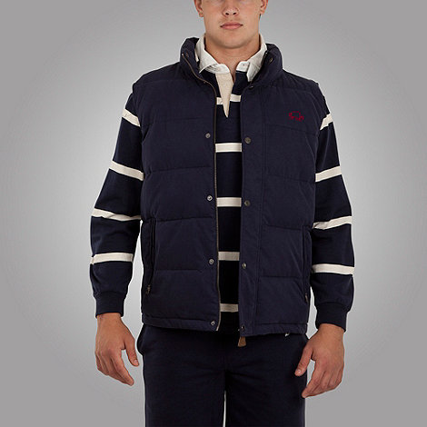Raging Bull - SS12 Navy Gilet Mens