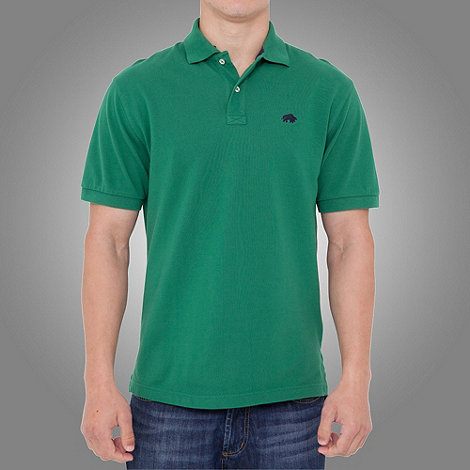 Raging Bull - signature Pique Polo- Forest Green