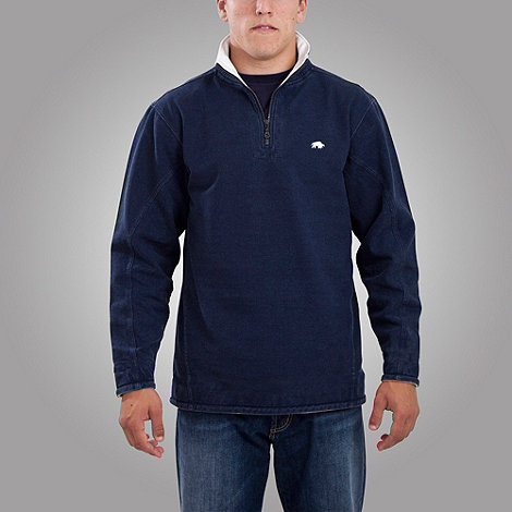 Raging Bull - Plain 1/4 zip top