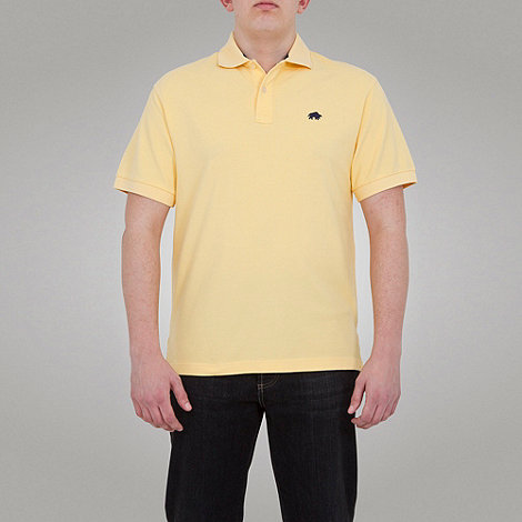 Raging Bull - signature Pique Polo-Lemon