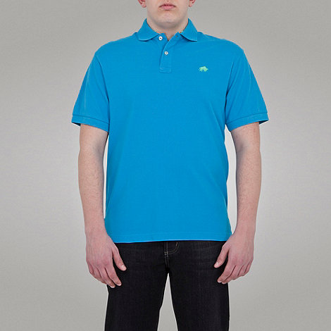 Raging Bull - signature Polo-Electric Blue