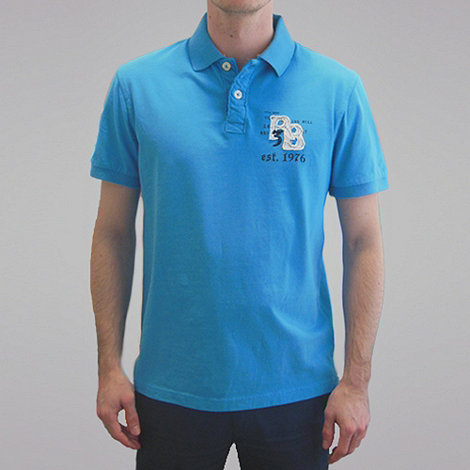 Raging Bull - Rb Applique Polo - Electric Blue
