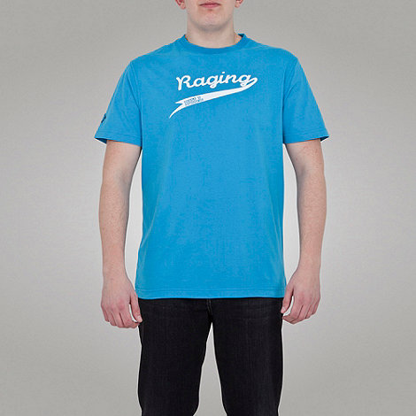 Raging Bull - Swoosh Tee - Electric Blue