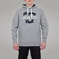 Raging Bull - Large Applique Hoody