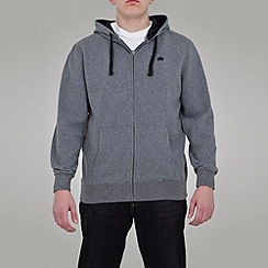 Raging Bull - Zip Through Signature Hoody - Dark Grey