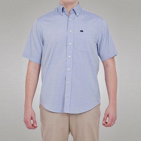 Raging Bull - S/S Oxford Shirt - Sky