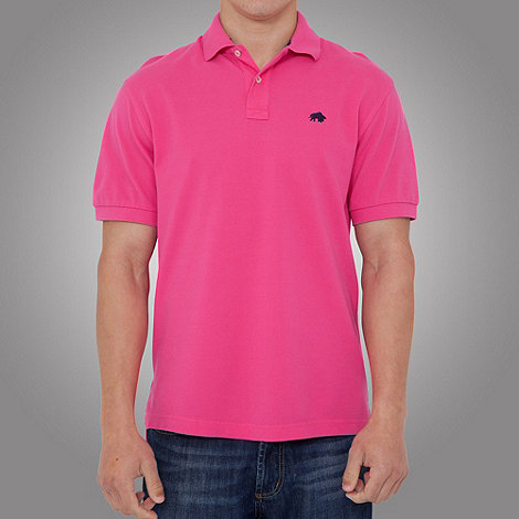 Raging Bull - signature Pique Polo-Vivid Pink