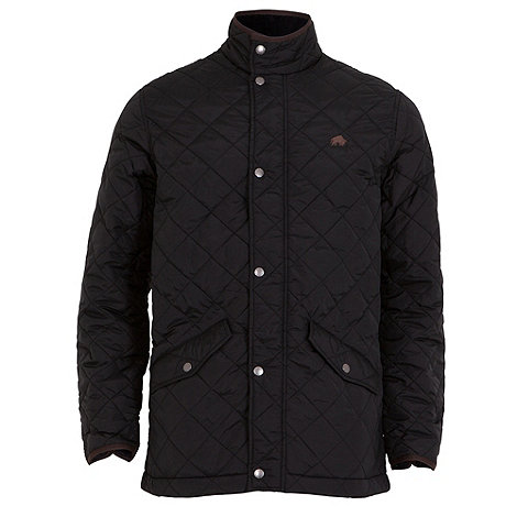 Raging Bull - Quilted fleece lined jacket