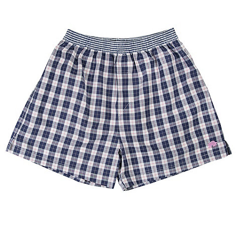 Raging Bull - Cotton tartan boxer short