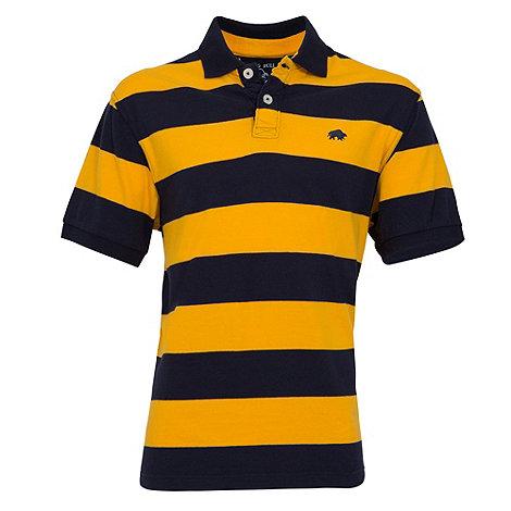 Raging Bull - M stripe Polo