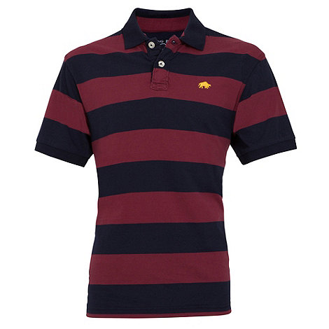 Raging Bull - M stripe polo