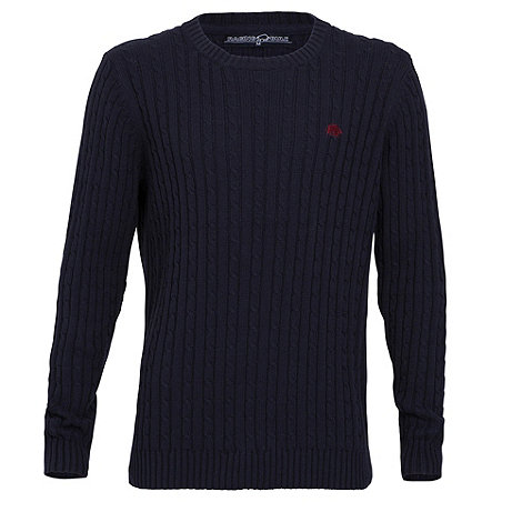 Raging Bull - Cable Knit Sweater