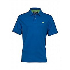 Raging Bull - Cobalt blue signature polo