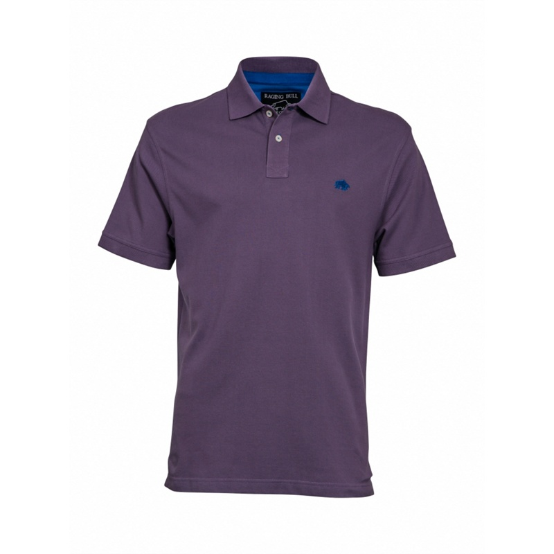 Raging Bull New Signature Polo, Men's, Size: Medium, Purple.