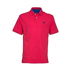 Raging Bull - Vivid pink signature polo
