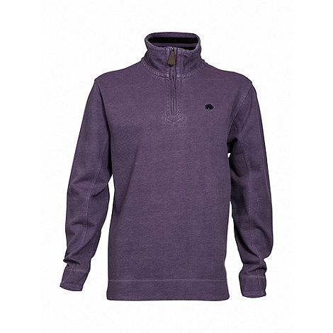 Raging Bull - Purple signature quarter zip