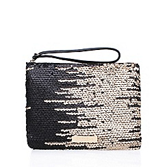 Carvela - Black 'Glamour Pouch' clutch bag