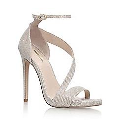 Carvela - Gold 'Gosh' high heel sandals