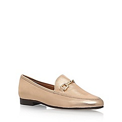 Carvela - Gold 'Loss' flat loafers