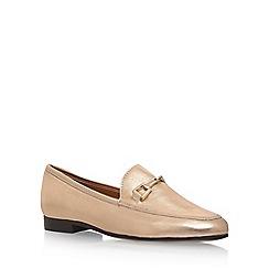 Carvela - Gold 'Loss' flat loafers