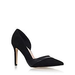 Miss KG - Black 'Cai 2' high heel court shoes