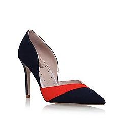 Miss KG - Blue 'Cobey' high heel court shoes