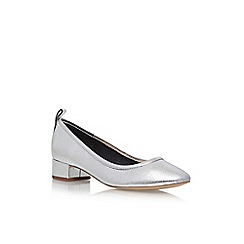 Carvela - Silver Aston high heel court shoes
