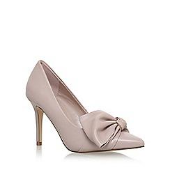 Carvela - Natural 'Klassic' high heel court shoes