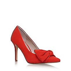 Carvela - Orange 'Klassic' high heel court shoes