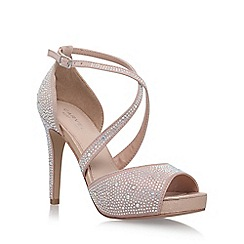 Carvela - Natural 'Larna' high heel sandals