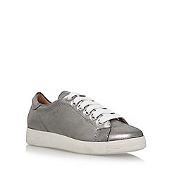 Carvela - Grey 'Jaguar' flat lace up sneakers