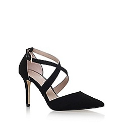 Carvela - Black 'Kross2' high heel sandals