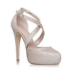 Carvela - Gold 'Kassie' high heel sandals