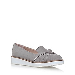 Carvela - Grey 'Maxx' flat slip on loafers