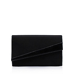 Miss KG - Black 'Heidi' clutch bag