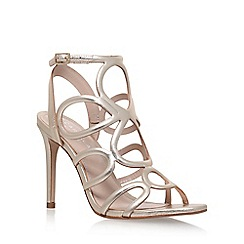 Carvela - Gold 'Gabby' high heel sandals