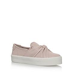 Carvela - Natural 'Loren' flat slip on sneakers