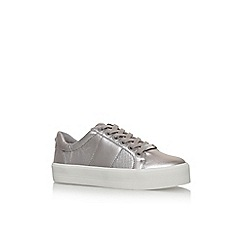 Carvela - Metal 'Lint' flat lace up sneakers